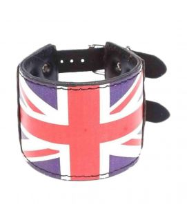 Black Leather Stylish Bracelet JP 1468
