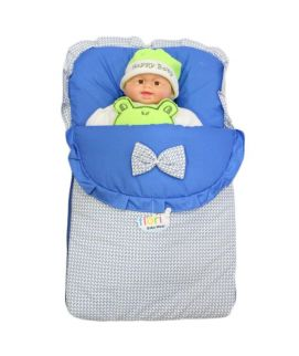 Baby Carry Nest Bow Style Blue
