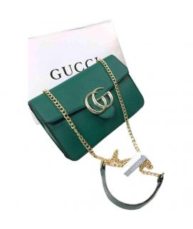 Gucci Green Casual Clutch For Women