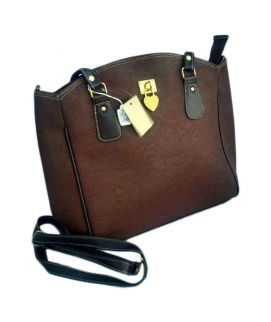 Brown & Black New Style Women's Hand Bag
