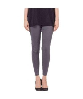 Grey Skinny Tights For Women's