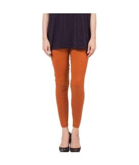 Mustard Skinny Tights For Women's