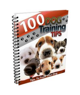 100 Dog Trainig Tips - E Book