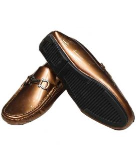 Shining Brown New Stylish Shoes For Men