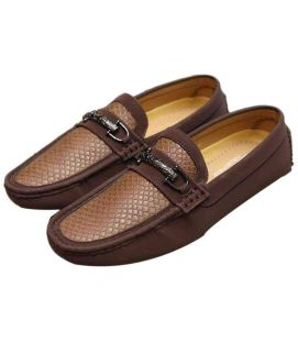 New Style Fawn & Brown Gents Loafers