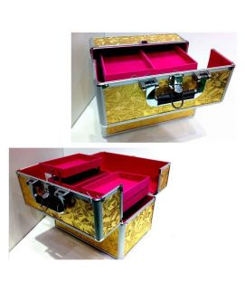 Big Makeup Box Yellow