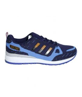Men's Blue And Light Blue Sports Shoes