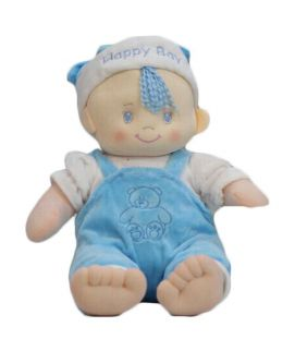 Blue Baby Sitting Doll Musical