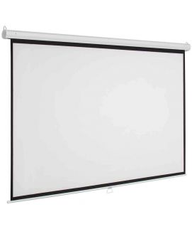 Projector Screen 150 Inch Manual 8x10 Feet 4_3MW Speed-X