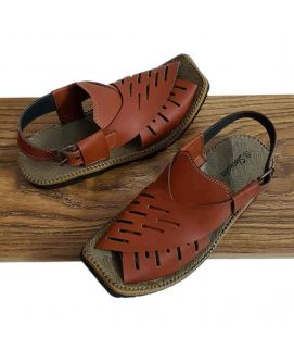 Men's Brown Peshawari Sandals