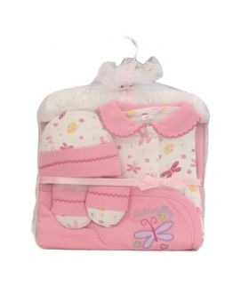 Rose Pink Baby Clothes Pack