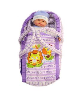 Newborn Baby Purple Hand Carrier
