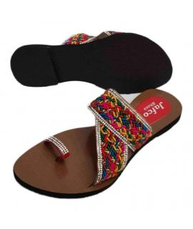 Women's Stylish Multicolor Jafco Slippers
