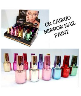 CR Cairuo Mirror Nail Paint 12 Pcs