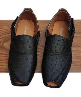 Men's Black Kheri Style Sandle