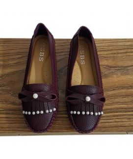 Women's Maroon  Imported Shoes