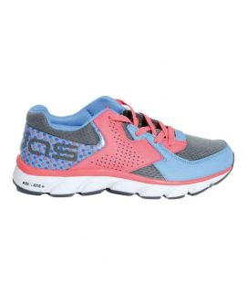Men's Pink And Blue Sports Shoes