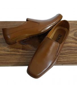 Men's Slip on Casual Brown Shoes