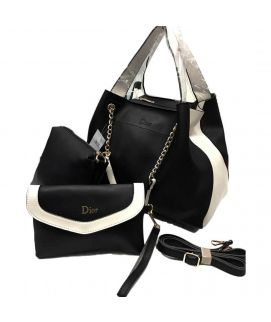 Black Hobo Ladies Handbag