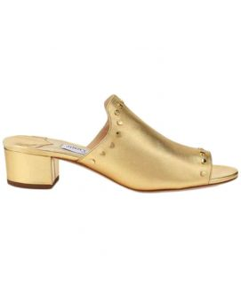 Women's Golden Mules