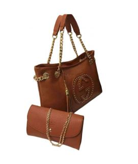 Brown Hobo Handbag For Women