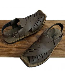 Men's Dark Brown Peshawari Sandals