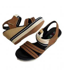 Women's Fawn & Camel Brown Wedges