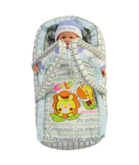 Newborn Baby Green Hand Carrier