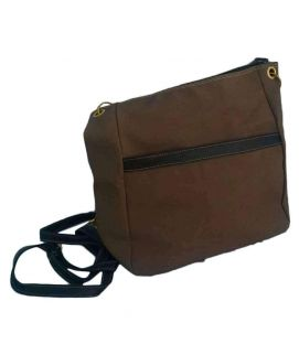 Brown Ladies Hand Bag Leather