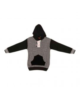 Acrylic Checkered Multicolour Sweater for Boys