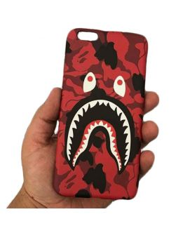 Bape Red Iphone Cover