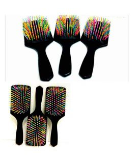 Black Paddle Brush
