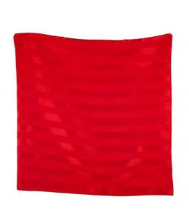 Red Lining Solid Stain Cushion Cover