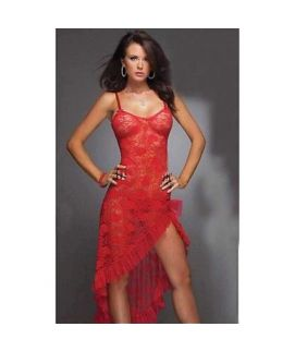 Adorable Lace Long Nightie