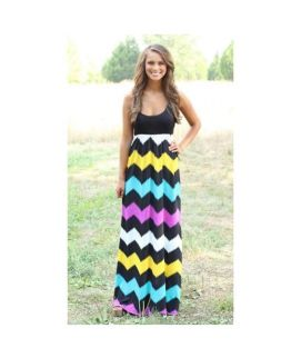 Women's Tank Top Under Strapless Maxi Dress