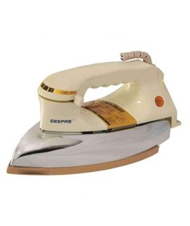 Geepas Dry Iron Self Cleaning White