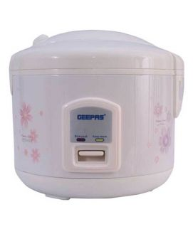 Geepas G R C4303 Electric Rice Cooker 1.5litre -590watts White
