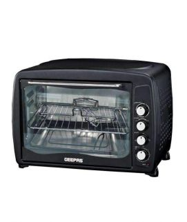 Geepas Electric Oven with Grill Black