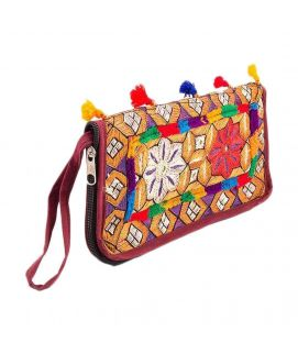 Hand Embroided Classy Clutch