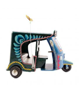 Beautifully Hand Painted Truck Art Classic Rickshaw Decoration Piece
