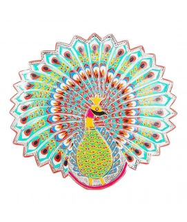 Peacock Truck Art Wall Mount Decoration Piece