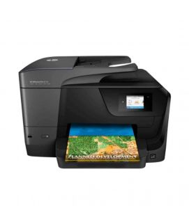 HP Officejet Pro 8710 Color Printer (Print  Scan  Copy  Fax  Wifi)