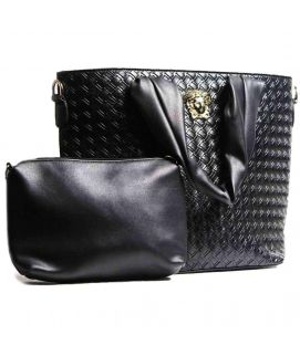 Black V Hand Bag For Women
