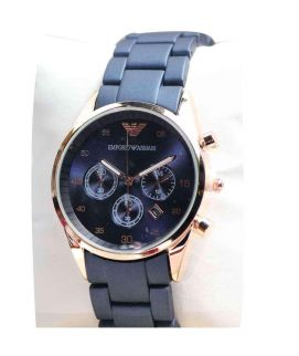 Ladies Blue & Golden Armani Stylish Watch