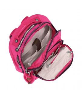 Kipling Class Seoul Laptop Backpack Pink Berry