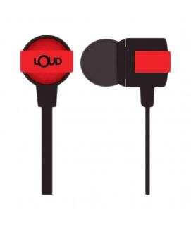 Go Fit Wired Red Earphone