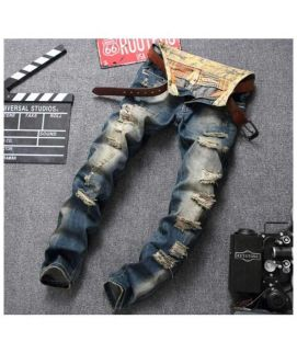 Men's Trendy Ripped Jeans