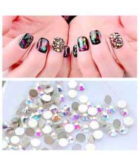1440 Pcs Pack Crystal Clear Rhinestones Nails