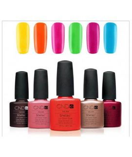 12pcs Shellac Gel Polish And Salon Nail Gel