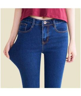 Women's Strechable Blue Denim Jeans